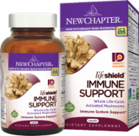New Chapter Organics Lifeshield Immune Support Dietary Supplement