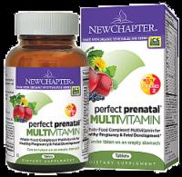New Chapter Organics Perfect Prenatal Multivitamin