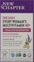 New Chapter Organics Every Woman One Daily 40-Plus Tablets