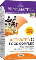 New Chapter Activated C Food Complex Supplement Tablets 60 Count