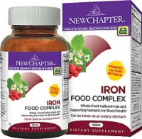 New Chapter  Iron Food Complex - 60 Tablets