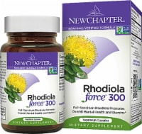 New Chapter Rhodiola Force 300 Dietary Supplement Vegetarian Capsules - 30 ct