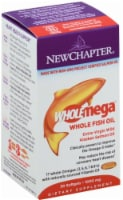 New Chapter Wholemega Whole Fish Oil - 30 ct
