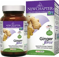 New Chapter Ginger Force Dietary Supplement Vegetarian Capsules - 30 ct