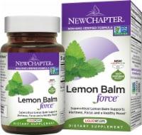 New Chapter Lemon Balm Force Dietary Supplement Liquid Vegetarian Capsules - 30 ct