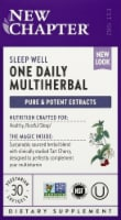 New Chapter One Daily Multiherbal Sleep Well Softgels 30 Count