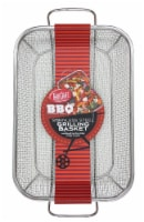 TableCraft Fine Mesh Stainless Steel Grilling Basket