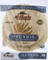 Mi Rancho Organic Wheat Flour Tortillas - 6 ct / 15 oz