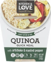 Kitchen & Love Cucina Et Amore Artichoke & Roasted Peppers Quinoa Meal