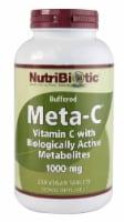 NutriBiotic Buffered Meta-C Vegan Tablets 1000 mg - 250 ct
