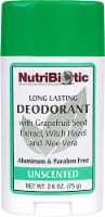 NutriBiotic  Deodorant Stick Unscented