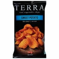 Terra Sea Salt Krinkle Cut Sweet Potato Vegetable Chips