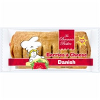Brownie Baker Berries Cream Danish, 5 Ounce -- 54 per case.