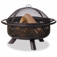 Blue Rhino Wood Fireplace - Brown
