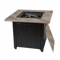Endless Summer GAD15299ES 30 in. The Harper Square Gas Outdoor Fire Pit with Printed Cement R