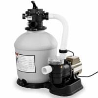 """XtremepowerUS Above-Ground Swimming Pool 16"""" Sand Filter W/  Pool Pump - 1 Unit"""