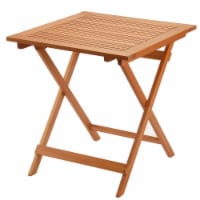 Eucalyptus Grandis Wood Folding Table