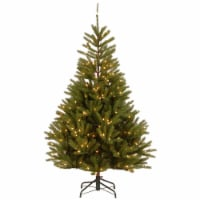 7.5 ft. Topeka Spruce Tree with Clear Lights - 1