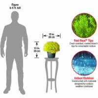 National Tree 15 Inch Global Juniper Plant Artificial Tree w/ Green Growers Pot - 1 Piece