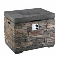 Natural Stone Design MGO Propane Fire Pit Table - 1