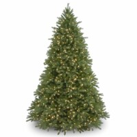 7.5 ft. Jersey Fraser Fir Deluxe Tree with Dual Color LED Lights - 1