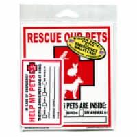 Imagine This Emergency Pet Rescue Decals