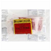 Bear Creek Uncooked Cured Salt Pork