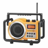 Sangean LB-100 Lunchbox Rugged Industrial Jobsite Caged Compact AM FM Radio - 1 Piece