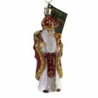Old World Christmas St. Nicholas Glass Bishop Kind Benevolent 40317 - 1