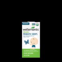 Wellements Organic Probiotic Drops - 0.25 fl oz