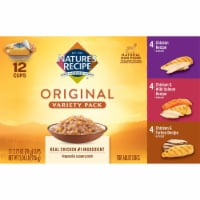 Nature's Recipe Original Variety Pack Dog Food 12 Count