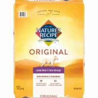 Nature's Recipe Lamb Meal & Rice Protein Dry Adult Dog Food
