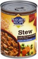 Nature's Recipe Lamb Rice & Barley Stew Wet Dog Food