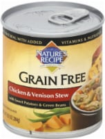 Nature's Recipe Grain Free Chicken & Venison Stew Wet Dog Food