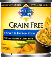 Nature's Recipe Grain Free Chicken & Turkey Stew Wet Dog Food