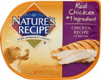 Nature's Recipe Chicken in Broth Wet Dog Food