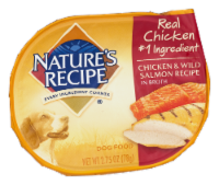 Nature's Recipe Chicken & Wild Salmon in Broth Wet Dog Food