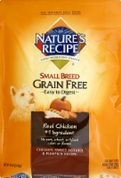 Nature's Recipe Grain Free Chicken Sweet Potato & Pumpkin Small Breed Dry Dog Food