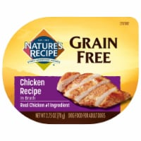 Nature's Recipe Grain Free Chicken in Broth Wet Dog Food