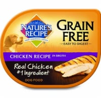 Nature's Recipe Grain Free Chicken Recipe in Broth Wet Dog Food
