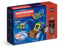 MAGFORMERS® Funny Wheel Building Set 20 Piece - 20 pc