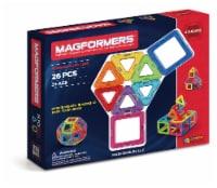 MAGFORMERS® Building Set 26 Piece - Rainbow