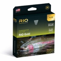 RIO Elite Gold Freshwater Tricolor Ultra Slick Cast Tapered Fly Fishing Line - 1 Piece