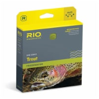 RIO Products WF4F Avid Trout Series Casting Line for Fly Fishing, Pale Yellow - 1 Piece