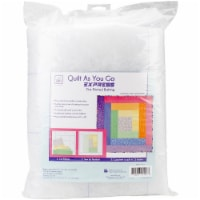 June Tailor Express Printed Quilt Blocks On Batting-Colorado Cabin - 1