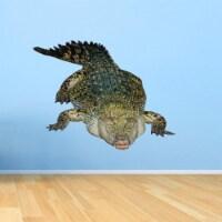 VWAQ Crocodile Wall Decal Sticker - Realistic Animal Vinyl Wall Art - PAS24 - 1