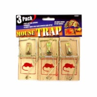 Bulk Buys HZ001-24 8'' x 8'' x 8'' Mouse Trap Value Pack - Pack of 24 - 24