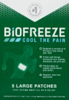 Biofreeze Large Pain Relief Patches
