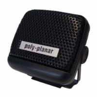 PolyPlanar VHF Extension Speaker - 8W Surface Mount -(Single) Black - 1 unit