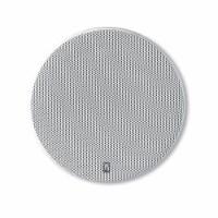 PolyPlanar 8  Platinum Round Marine Speaker - (Pair) White - 1 unit